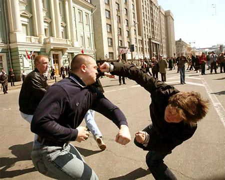Самооборона на улице Уроки самообороны DVDRip обучающее видео